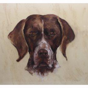 Dorothy M Roberts (fl.1935 - 1940) Dog Portrait