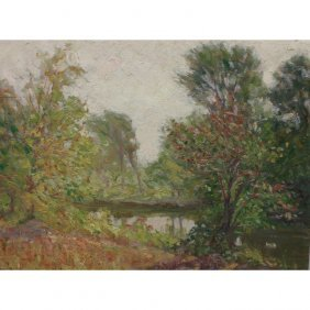 Early 20th C. Impressionist Landscape