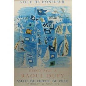 Raoul Dufy (1877 - 1953) Advertisement