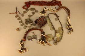 Lot Of Assorted Vintage Middle Eastern Jewelry