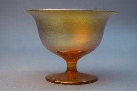 Steuben Style Aurene Glass Sherbet