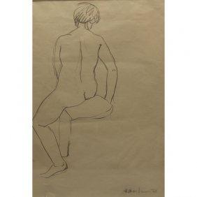 Henrik Berlewi (poland, 1894 - 1967) Female Nude