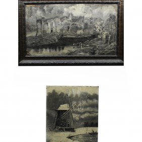 (2) Signed Luther Porter Paintings