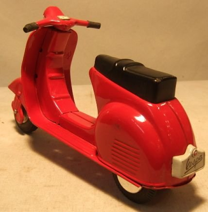 2008 vespa g s motor scooter made of tin by bandai for Motor scooter store near me