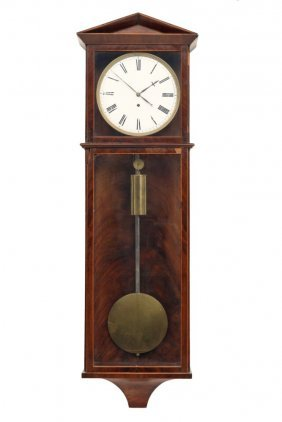 Vienna Dachluhr - Wall Regulator Clock