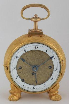 Empire Travel Clock Carl Wurm In Wien