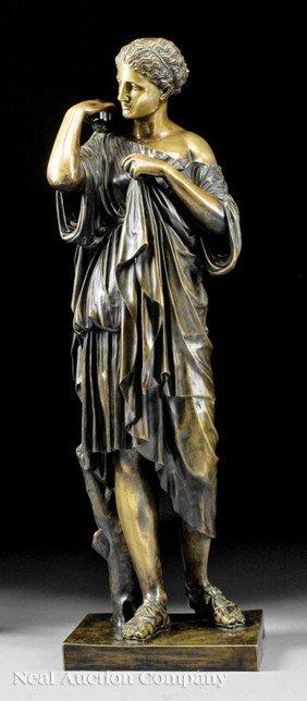 "Italian Bronze Of ""The Diana From Gabii"""
