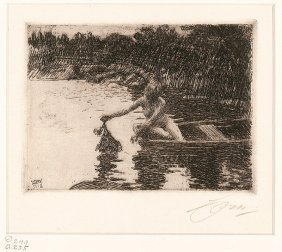 Anders Zorn (swedish, 1860-1920)