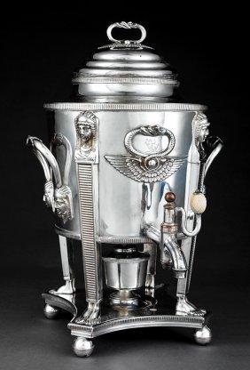 Regency Sheffield Plate Hot Water Urn