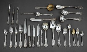 Tiffany Sterling Silver Flatware Service