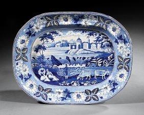 Staffordshire Pearlware Platter