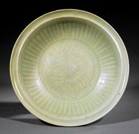 Chinese Celadon Stoneware Bowl