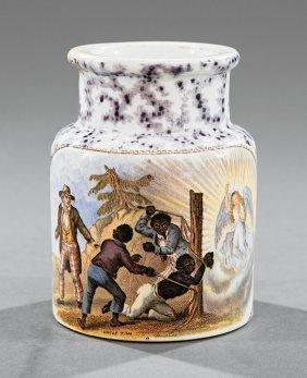 English Ironstone Storage Jar