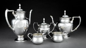 Fisher Silversmiths Partial Coffee & Tea Service
