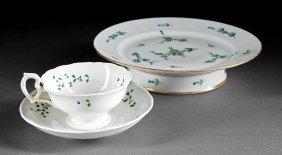 """Paris Porcelain """"decor De La Reine"""" Tazza"""