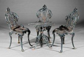 Victorian Cast Iron Garden Suite