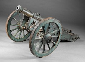 French Bronze Signal Cannon