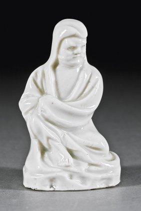 """Chinese """"blanc De Chine"""" Porcelain Of Pintoulo"""