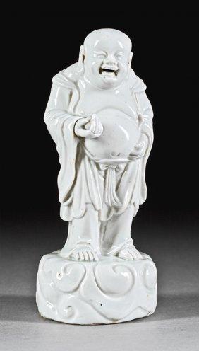 "Chinese ""blanc De Chine"" Porcelain Figure Budai"