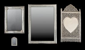 Four Silver Picture Frames