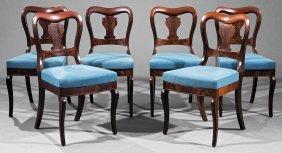 Mahogany Side Chairs, Attr. Phyfe