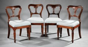 """Rosewood Side Chairs, """"j. Kendall & Co."""""""