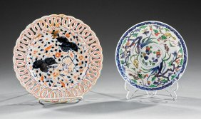Two Chinese Export Porcelain Dishes