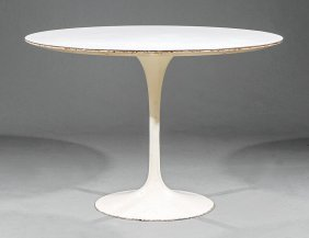 Eero Saarinen Tulip Dining Table, Knoll