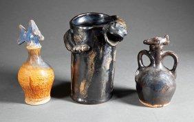 Titus Riley Stoneware Figural Tableware Pieces