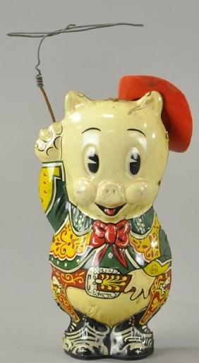 Marx Porky The Cowboy Pig