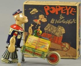 BOXED POPEYE BAGGAGE EXPRESS