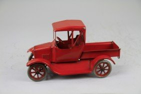 BUDDY 'L' RARE RED FLIVVER FORD TRUCK