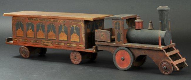 Toy Palace Car Train Set Lot 1741
