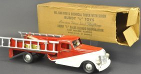 Boxed Buddy 'l' Fire And Chemical Truck No. 646