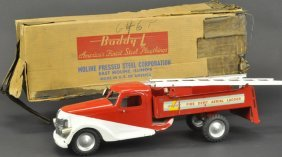 Boxed Buddy 'l' Fire Dept. Aerial Ladder