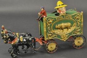 """Hubley """"farmers"""" Van Wagon"""