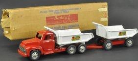 Buddy 'l' Double Tandem Hydraulic Dump