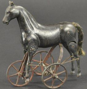 Ives Walking Horse On Wheels