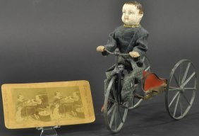 Boy On Velocipede