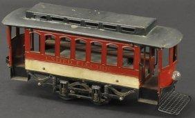 Voltamp #2120 Trolley (closed End)