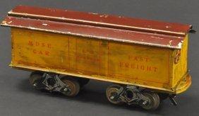 "Knapp ""fast Freight"" Box Car"