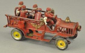 Hubley Patrol Wagon