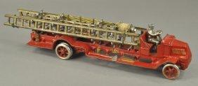 Arcade Mack Ladder Truck