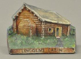 Lincoln's Cabin Doorstop