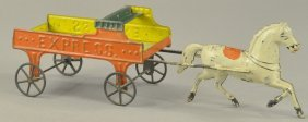 Early Tin Express Wagon