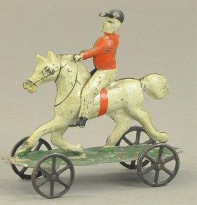 Man Riding Horse Platform Toy