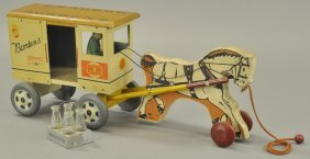 Borden's Milk & Cream Farm Products Wagon