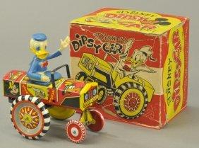Donald Dipsy Car W/box