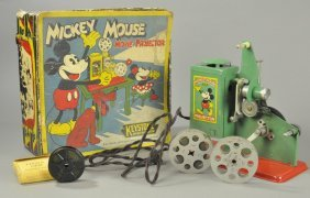Mickey Mouse Movie Projector With Box