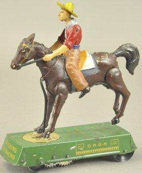 Lehmann Bucking Bronco (brown Horse)